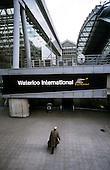 Waterloo International railway station, the London Eurostar terminal.