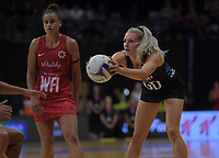 NZ's Jane Watson in action during the Cadbury Netball Series Taini Jamison Trophy match between New Zealand Silver Ferns and England Roses at Claudelands Arena in Hamilton, New Zealand on Wednesday, 28 October 2020. Photo: Dave Lintott / lintottphoto.co.nz