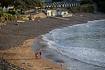 Langland Bay, Swansea, UK, 5th November 2020.<br />