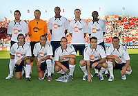 21 July 2010:   Starting eleven of the Bolton Wanderers FC during the Carlsberg Cup game between the Bolton Wanderers and Toronto FC at BMO Field in Toronto..Bolton Wanderers FC  won on penalties.