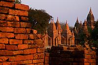 Ancient ruins of Bagan, Myanmar, Burma