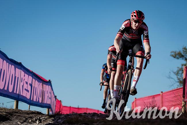 Michael Vanthourenhout (BEL/Pauwels Sauzen - Bingoal) <br /> <br /> Elite Men's Race<br /> 2021 UCI cyclo-cross World Cup - Zonhoven (BEL)<br /> <br /> ©kramon