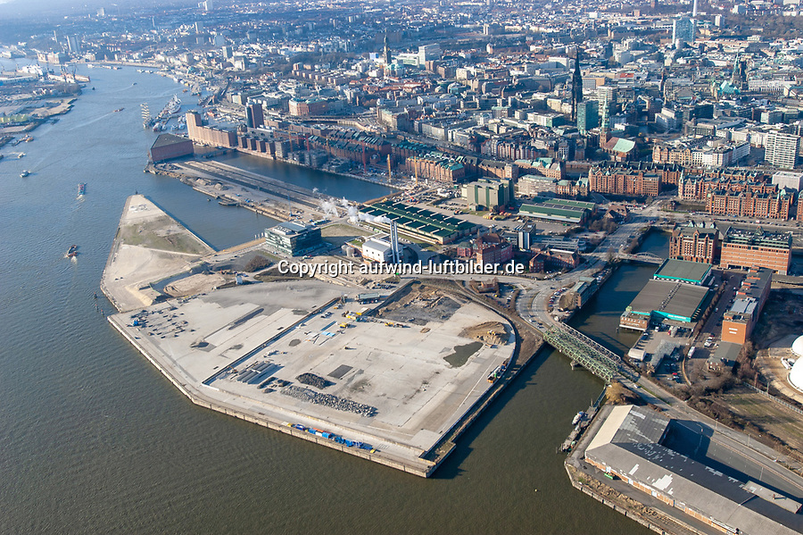 Hafencity Baustelle historisch: EUROPA, DEUTSCHLAND, HAMBURG, (EUROPE, GERMANY), 19.02.2004 Hafencity Baustelle historisch