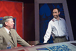 Mike Sexton & Barry Greenstein chat before the taping of the final table.