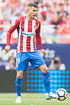 Lucas Hernandez of Atletico de Madrid in action during their La Liga match between Atletico de Madrid vs Athletic de Bilbao at the Estadio Vicente Calderon on 21 May 2017 in Madrid, Spain. Photo by Diego Gonzalez Souto / Power Sport Images