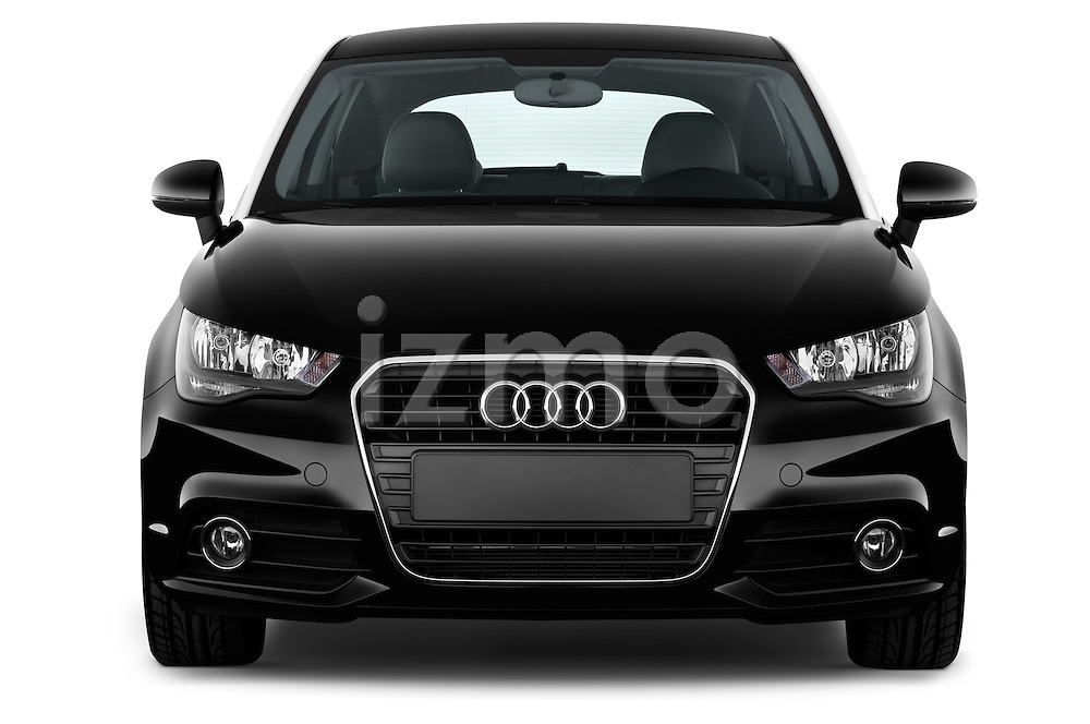 Straight front view of a 2014 Audi A1 Ambition 3 Door Hatchback 2WD