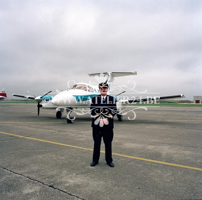 Mei 1993. Vliegtuig op de luchthaven van Deurne.