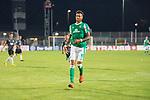 12.09.2020, Ernst-Abbe-Sportfeld, Jena, GER, DFB-Pokal, 1. Runde, FC Carl Zeiss Jena vs SV Werder Bremen<br /> <br /> Davie Selke  (SV Werder Bremen #09)<br /> Einzelaktion, Ganzkörper / Ganzkoerper <br /> Querformat<br /> <br /> <br />  <br /> <br /> <br /> Foto © nordphoto / Kokenge