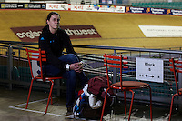 Helen Mortimer, National Cycling Centre , January 2012 . Pic copyright Steve Behr / Stockfile