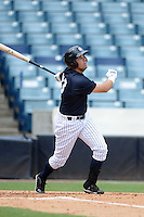 New York Yankees outfielder Michael O'Neill (73) during an Instructional League game against the Toronto Blue Jays on September 24, 2014 at George M. Steinbrenner Field in Tampa, Florida.  (Mike Janes/Four Seam Images)