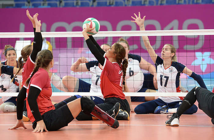 Jennifer Oakes, Lima 2019 - Sitting Volleyball // Volleyball assis.<br />