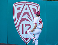 STANFORD, CA - JUNE 5: Brendan Beck before a game between UC Irvine and Stanford Baseball at Sunken Diamond on June 5, 2021 in Stanford, California.