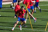 Spainsh Aritz Aduriz during the training of the spanish national football team in the city of football of Las Rozas in Madrid, Spain. November 09, 2016. (ALTERPHOTOS/Rodrigo Jimenez) ///NORTEPHOTO.COM