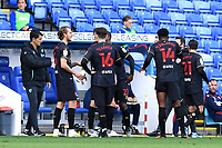 Watford Manager Vladimir Ivic left issues instructions during a water break during Reading vs Watford, Sky Bet EFL Championship Football at the Madejski Stadium on 3rd October 2020