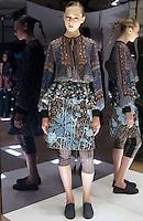Model in Look 6: Patchwork Paisley Top, Bohemian Rhapsody Skirt, Patchwork Paisley Pants
