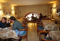 - ancient Great Oriental Coffee in Garibaldi square<br /> <br /> - antico Gran Caffè Orientale in piazza Garibaldi