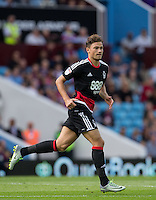Matty Cash of Nottingham Forest during the Sky Bet Championship match between Aston Villa and Nottingham Forest at Villa Park, Birmingham, England on 11 September 2016. Photo by Andy Rowland / PRiME Media Images.