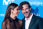 Malena Costa and Daniel Grao attends to blue carpet of presentation of new schedule of Movistar+ at Queen Sofia Museum in Madrid, Spain. September 12, 2018. (ALTERPHOTOS/Borja B.Hojas)