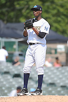 Trenton Thunder pitcher Francisco Rondon (32) during game against the Binghamton Mets at ARM & HAMMER Park on July 27, 2014 in Trenton, NJ.  Trenton defeated Binghamton 7-3.  (Tomasso DeRosa/Four Seam Images)