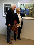 HIP 2019 Hull International Photography Festival. Homer Sykes with Gillian Carrington who was the subject of a 1980 image.<br />