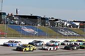 #19: Brandon Jones, Joe Gibbs Racing, Toyota Supra Menards/Swiffer, #22: Austin Cindric, Team Penske, Ford Mustang, #20: Harrison Burton, Joe Gibbs Racing, Toyota Supra DEX Imaging