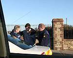 Mornington Stabbing man being arrested
