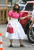 NEW YORK, NY- JULY 13: Kristin Davis arriving to the set of the HBOMax Sex and the City reboot series And Just Like That in New York City on July 13, 2021. <br /> CAP/MPI/RW<br /> ©RW/MPI/Capital Pictures