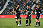 Leganes vs Real Madrid Lucas Vazquez, Marco Asensio dejected during Copa del Rey  match. A quarter of final go. 20180118.