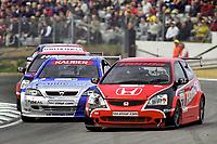 2002 British Touring Car Championship. #28 Andy Priaulx (GBR). Honda Racing. Honda Civic Type-R.