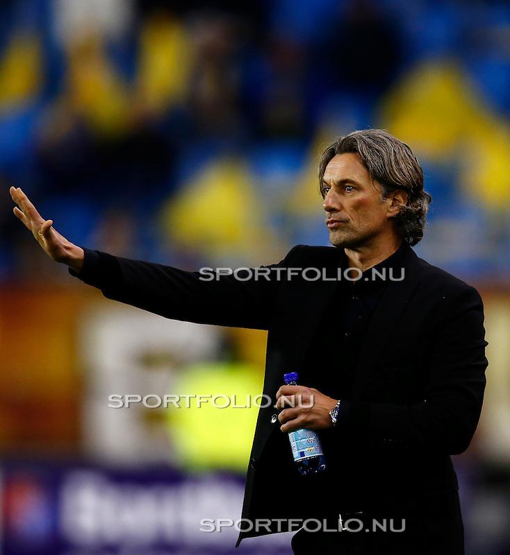Nederland, Arnhem, 13 februari 2016<br /> Eredivisie<br /> Seizoen 2015-2016<br /> Vitesse-SC Heerenveen <br /> Rob Maas, trainer-coach van Vitesse.
