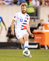 PHILADELPHIA, PA - JUNE 30: Tim Ream #13 during a game between Curaçao and USMNT at Lincoln Financial Field on June 30, 2019 in Philadelphia, Pennsylvania.