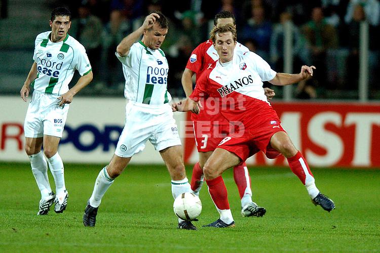 groningen - fc utrecht  eredivisie seizoen 2007-2008 14-09- 2007 matthijs met broerse