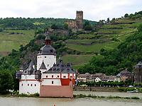 Burg Pfalzgrafenstein, Kaub, Rheinland-Pfalz, Deutschland, Europa, UNESCO Weltkulturerbe<br /> castle Pfalzgrafenstein, Kaub, Rhineland-Palatinate, Germany, Europe