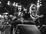 Kiss 1976 Gene Simmons and Paul Stanley.© Chris Walter.