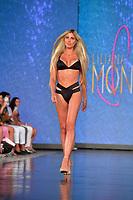 MIAMI BEACH, FLORIDA - JULY 11: Designer Liliana Montoya walks the runway for LILIANA MONTOYA At Miami Swim Week Powered By Art Hearts Fashion Swim/Resort 2019/20 at Faena Forum on July 11, 2019 in Miami Beach, Florida.<br /><br /><br />People:  Liliana Montoya