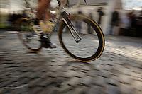 flying over the cobbles<br /> <br /> GP Le Samyn 2014