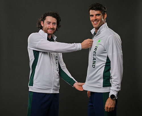 Pictured are the Men's Double Scull pair of Ronan Byrne (left) and Philip Doyle | Credit: Seb Daly/Sportsfile