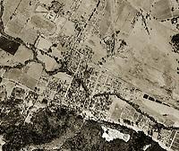 historical aerial photograph Calistoga, Napa county, California, 1958