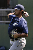Fort Wayne Wizards Alfredo Fernandez during a Midwest League game at Oldsmobile Park on July 13, 2006 in Fort Wayne, Indiana.  (Mike Janes/Four Seam Images)