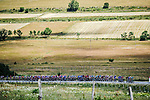 The peloton in action during Stage 10 of the 2019 Tour de France running 217.5km from Saint-Flour to Albi, France. 15th July 2019.<br /> Picture: ASO/Pauline Ballet | Cyclefile<br /> All photos usage must carry mandatory copyright credit (© Cyclefile | ASO/Pauline Ballet)