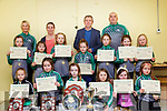 Ballyduff Ladies GAA Awards: Pictured at the Ballyduff Ladies GAA awards night on Friday night last at Ballyduff NS were the U/8 award winners with Natalie O'Connor,  Edel Slattery, Kerry Manager Peter Keane & Maurice Dunworth.