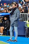 Pablo Machin coach of RCD Espanyol during La Liga match between CD Leganes and RCD Espanyol at Butarque Stadium in Leganes, Spain. December 22, 2019. (ALTERPHOTOS/A. Perez Meca)
