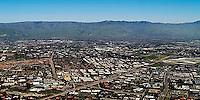 aerial photograph San Jose, Santa Clara, Santa Clara county, California