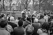 Heiko Khoo, Marxist.  Speakers Corner, Hyde Park, London, 2014.
