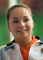 29-1-09, Almere, Training Fedcup team, Nicole Thyssen