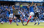 Andy Little scores his second goal for Rangers