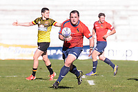 Spain team and Belgium team during Rugby Europe Championship 2017 match between Spain and Belgium in Madrid. March 18, 2017. (ALTERPHOTOS/Borja B.Hojas) /NORTEPHOTO.COM