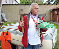 IFA und Trabant Treffen 2013 in Rackwitz (OT Podelwitz) - DDR-Experte Roland Ebert lädt zur alljährigen Zusammenkunft der Trabifans. Foto: Norman Rembarz