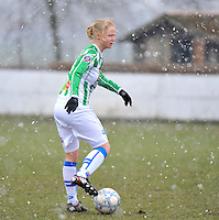 Club Brugge Dames - PEC Zwolle : Mariska Kogelman .foto DAVID CATRY / Vrouwenteam.be