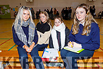 Presentation Secondary school students Clara Callaghan, Patrica Hallisey, Nikki Leen and Ava Culhane attending the 3rd Level Peer Event where the Past Pupils give a talk to the present student on Friday.